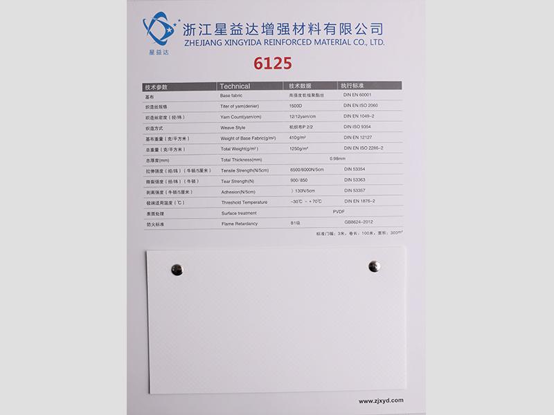 6125 (6000N,1250g,PVDF/Acrylic)