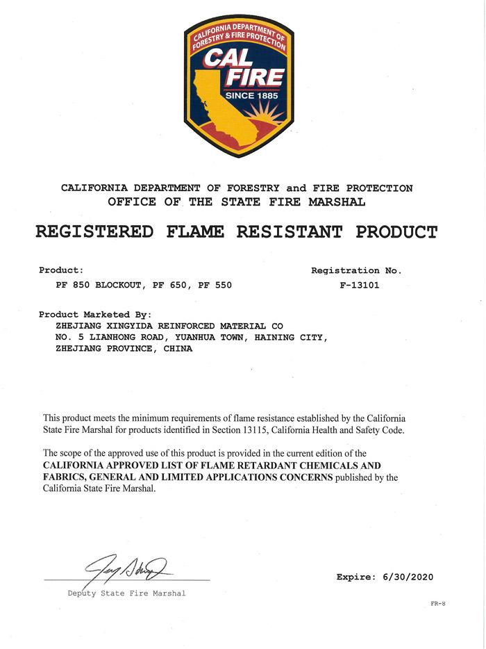 California Fire Prevention